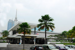 Krajowy meczet Malezja a K masjid Negara Zdjęcie Royalty Free