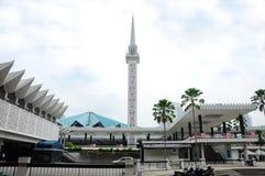 Krajowy meczet Malezja a K masjid Negara Obraz Royalty Free