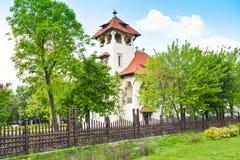 Krajowy muzeum sztuki 04 - Bucharest, Rumunia - 05 2019 fotografia stock