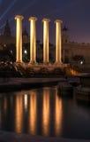 Krajowy muzeum sztuki Catalunya, Barcelona - Zdjęcia Stock