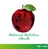 Krajowy odżywianie miesiąc Zdjęcia Stock