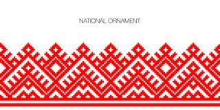 Krajowy ornamentu tło Zdjęcia Royalty Free