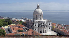 Krajowy panteon, Lisbon, Portugalia obraz royalty free