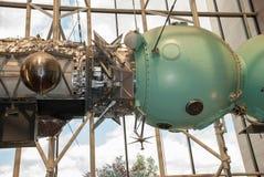 Krajowy powietrze i Astronautyczny muzeum (NASM) - Apollo - Soyuz testa projekt fotografia stock