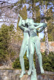 Krajowy rzeźba park Millesgarden w Sztokholm Obraz Royalty Free