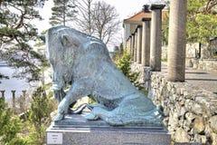 Krajowy rzeźba park Millesgarden w Sztokholm Fotografia Royalty Free