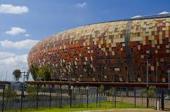 Krajowy stadium na zewnątrz Soweto zdjęcia royalty free