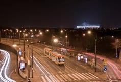 Krajowy stadium w Warszawskim Polska Fotografia Stock