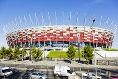 krajowy stadium Warsaw Obraz Royalty Free