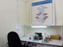 Krajowy standard jednostka masa w d Ja Mendeleyev instytut dla metrologii Zdjęcie Royalty Free