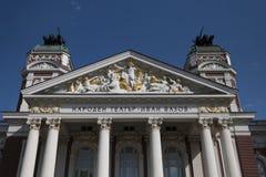 Krajowy teatr Ivan Vazov, Sofia, Bułgaria Zdjęcia Royalty Free