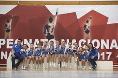 Krajowy Tlenowcowy gimnastyki mistrzostwo zdjęcia royalty free