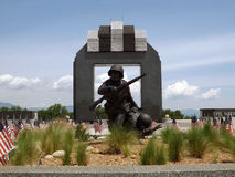Krajowy ważnego dnia pomnik, Bedford, VA, usa Obraz Royalty Free