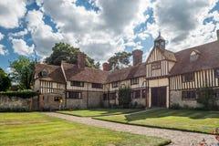 Krajowy zaufania Ightham Mote - średniowieczny rezydencja ziemska dom Obraz Stock