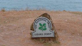 Krajowy zaufanie - jaszczurka punkt w południe Cornwall Anglia zbiory