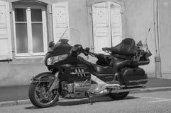 Krajoznawczy motocykl Honda Gold Wing (Goldwing) Fotografia Stock