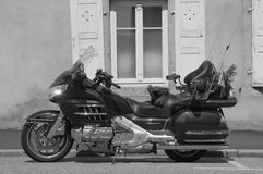 Krajoznawczy motocykl Honda Gold Wing (Goldwing) Obraz Royalty Free
