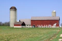kraju amerykański gospodarstwo rolne Obrazy Royalty Free