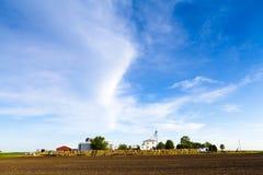 kraju amerykański gospodarstwo rolne Zdjęcia Stock