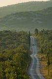 kraju Croatia droga Zdjęcie Stock