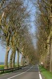 kraju d Oise droga val Zdjęcie Stock