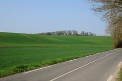 kraju d Oise droga val Zdjęcie Royalty Free
