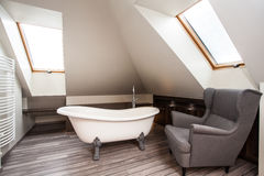 Kraju dom - łazienki wnętrze zdjęcia royalty free