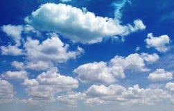 kraju duży niebo Obraz Royalty Free