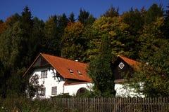 kraju forester domu stróżówka s Zdjęcia Stock