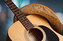 Kraju i westernu muzyka obrazy stock