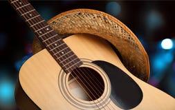 Kraju i westernu muzyka zdjęcia stock