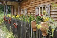 kraju idylliczny domowy fotografia stock
