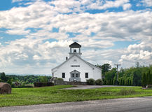 Kraju kościół Zdjęcia Royalty Free