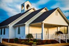 Kraju kościół 2 Obraz Royalty Free