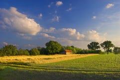kraju krajobraz zdjęcia stock
