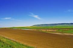 kraju krajobrazu strona Zdjęcia Stock