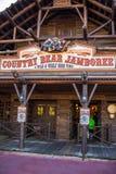 Kraju Niedźwiadkowy Jamboree przy Magicznym królestwem, Walt Disney świat Zdjęcia Stock