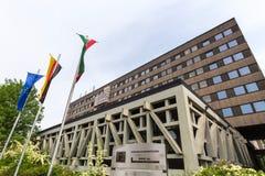 Kraju prawa sąd Bielefeld Germany Zdjęcie Royalty Free