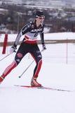 kraju przecinająca Denise niemiecka herrmann narciarka Obraz Royalty Free