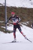 kraju przecinająca niemiecka Hanna kolb narciarka Zdjęcia Royalty Free