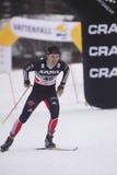 kraju przecinający Josef narciarki wenzl Obraz Stock