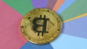 Kraju ` s crypto waluta jest bitcoin w wartości setki tysiące zdjęcie wideo