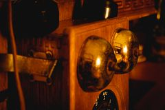 Kraju sklepu telefoniczny dzwon obrazy stock