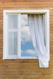 kraju starego stylu okno Obraz Royalty Free