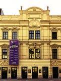 Kraju teatru St Pölten krzyż rozwijać Zdjęcie Stock