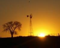 kraju wschód słońca Obrazy Royalty Free