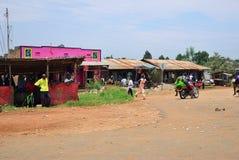 Kraju życie w Uganda, Afryka Zdjęcie Stock