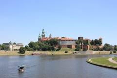 Kraków: Castillo real de Wawel, Polonia Fotografía de archivo