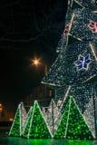 KRAKÓW, POLONIA - 22 DE DICIEMBRE DE 2016: Mercado anual de la Navidad en t Imagen de archivo libre de regalías