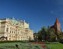 Cracovia Theatre in Poland Stock Photography
